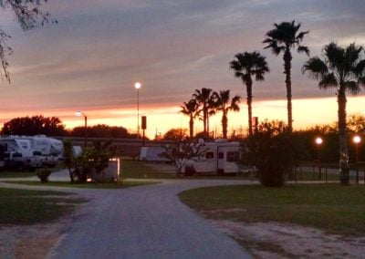 Countryside RV Park at Sunset